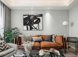 70㎡北欧混搭风格二居室,简约清新的装修设计案例