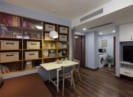 65平简约风小户型二居室,温馨浪漫而又舒适的小窝