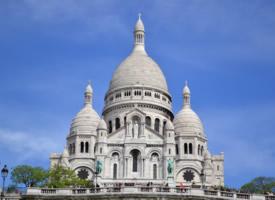 宏伟的建筑巴黎圣母院图片