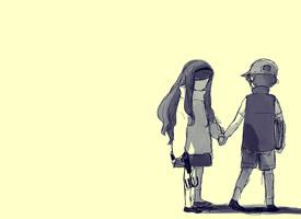 简约可爱卡通背景图片桌面壁纸