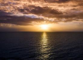 迷人的日出风景图欣赏