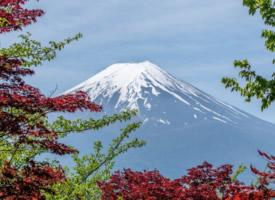 唯美的富士山风景图片欣赏