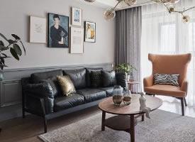 混搭三居室, 看似简洁,但其实每个小物件都极其用心