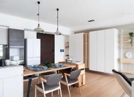 日式简约风二居室装修设计,悠闲舒适的温馨空间