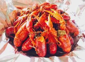 一组诱人的小龙虾图片