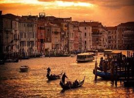 夕阳下的威尼斯,治愈了多少被岁月伤过心的旅行者