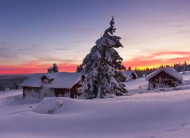 唯美冬季意境雪景壁纸