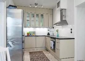 U型厨房设计,实用好看的完美布局  