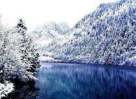 雪后的九寨沟图片欣赏