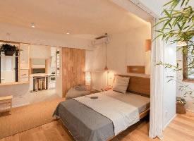 58㎡小户型设计,原木简约风,自然温馨二居室
