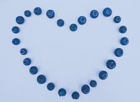 小颗小颗的蓝莓图片欣赏