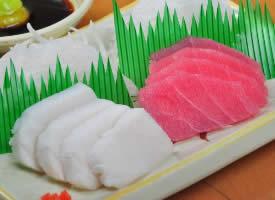 一组日本料理鱼籽刺身图片