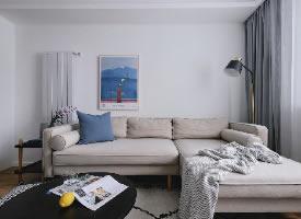 北欧二居室,房子虽小,但看着格外舒服  