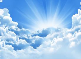 蓝天白云桌面壁纸图片