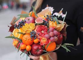精致美味的水果花束