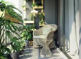 不同风格阳台设计,惬意舒心的生活享受