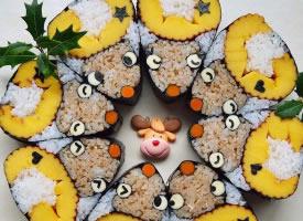 超可爱的创意寿司