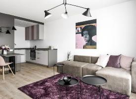 极简风格的小公寓设计