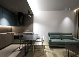 现代风格40平米单身小公寓设计