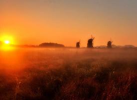 一组黎明日出唯美图片