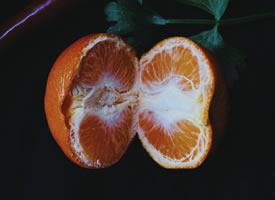 一组清凉爽口的橘子图片