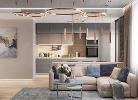 基辅120平米高雅时尚的现代住宅