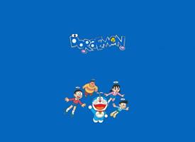 逗趣可爱的哆啦A梦卡通形象壁纸图片
