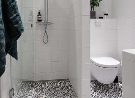 简洁明了的浴室设计,喜欢可以参考