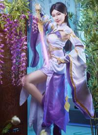 一组cos王者荣耀美丽的紫霞仙子