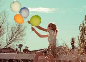 经典的个性气球意境图片