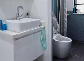 小户型卫浴间干湿分离设计