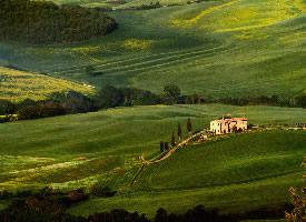 托斯卡纳草原风景图片