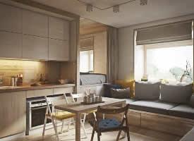 20平公寓经典设计案例