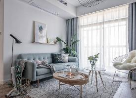 北欧元素混搭小公寓设计