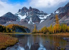 阿西尼博因山省级公园图片