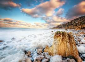 沙滩美景桌面壁纸图片