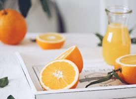 一组透亮酸甜的橙子图片欣赏