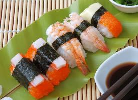 精美寿司美食高清桌面壁纸