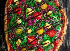 墨西哥披萨,色彩明艳