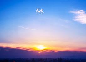 北京多彩的天空图片