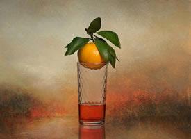 一组橘子唯美意境图片欣赏