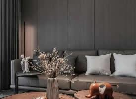125平简约现代婚房,干净利落质感高级