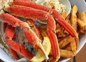 海盐焗螃蟹爪子,消磨时间的小零食