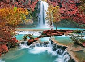 叹为观止的瀑布图片