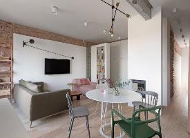 简约个性小公寓设计,简直不要太酷