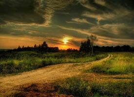 黄昏,是治愈心灵创伤的一剂灵药