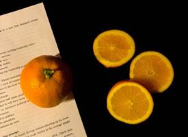 今天的橙子分你一块