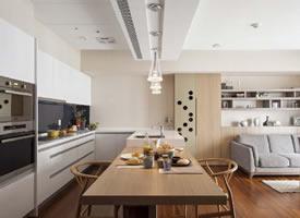 简约日式风住宅设计,暖暖的色调挺温馨