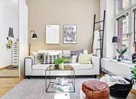 33平单身公寓,充满时尚感