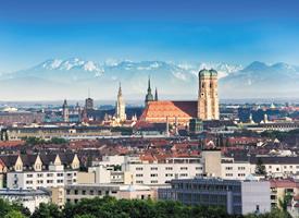 德国慕尼黑城市风景图片
